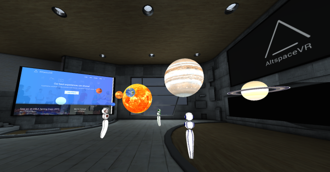 Altspace VR Chat Room