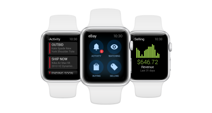 Ebay Brings Its Online Marketplace To The Apple Watch Techcrunch