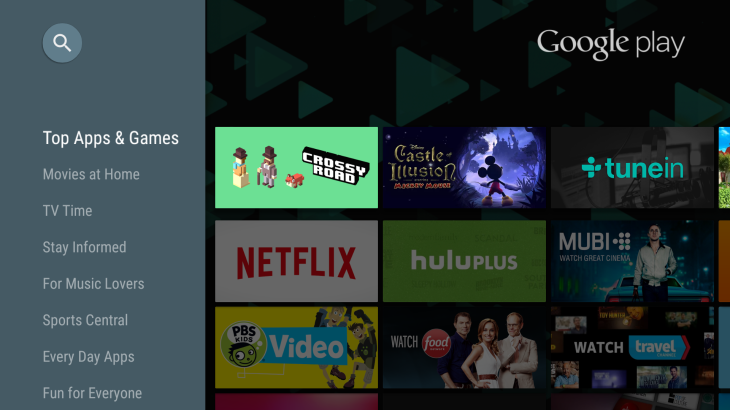 Android TV Gets Over 600 New Apps To Choose From In The Play