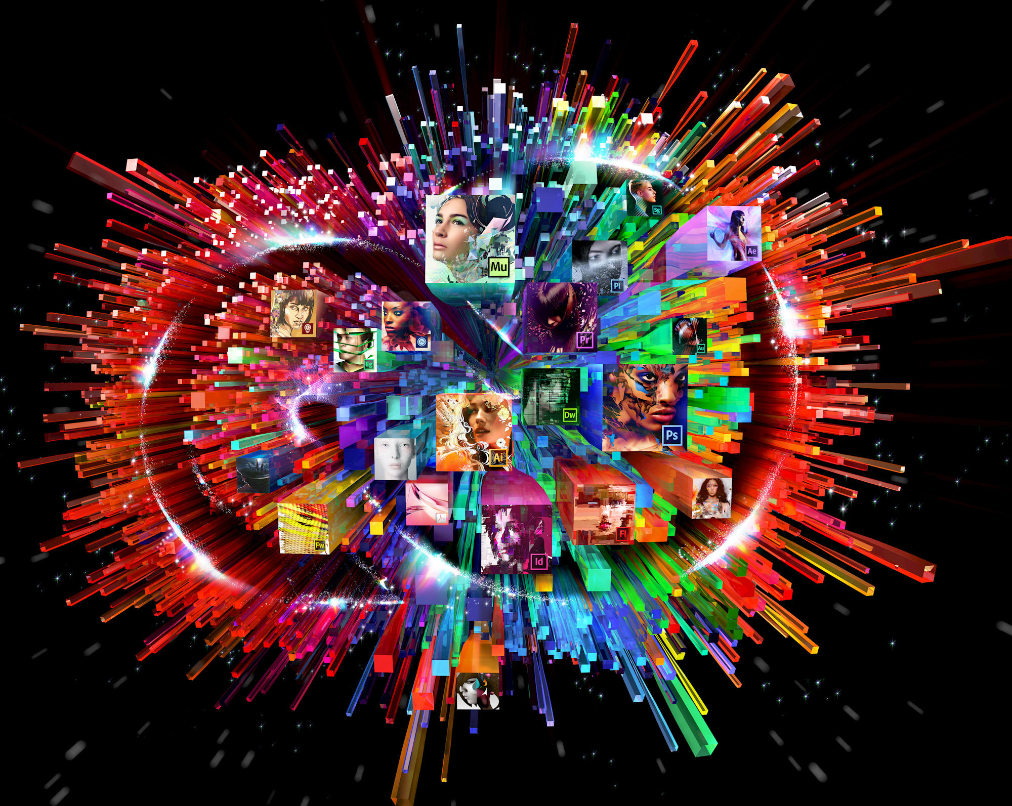 Adobe Brings Photoshop Mix, Brush CC, Shape CC And Color CC
