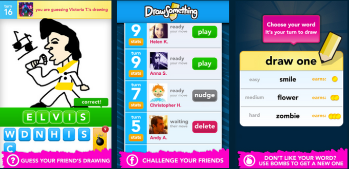 Doodle Draw is an obvious clone of this game, Draw Something