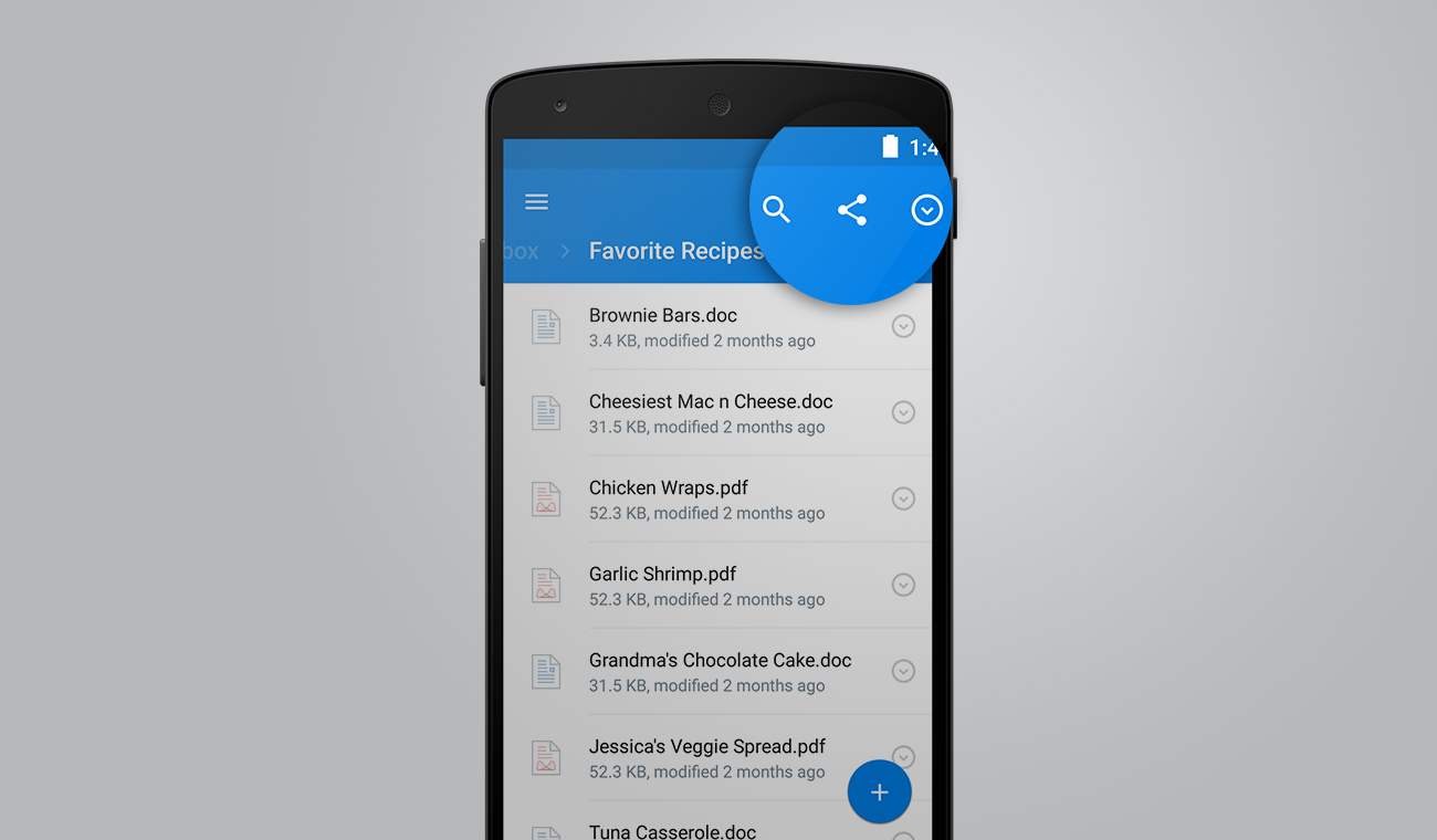 Dropbox for Android 3.0 3