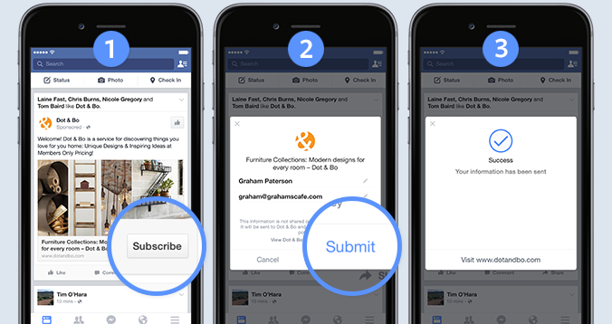 Marketers will drool over facebooks new signup ads that auto fill marketers will drool over facebooks new signup ads that auto fill your email or number techcrunch stopboris Image collections