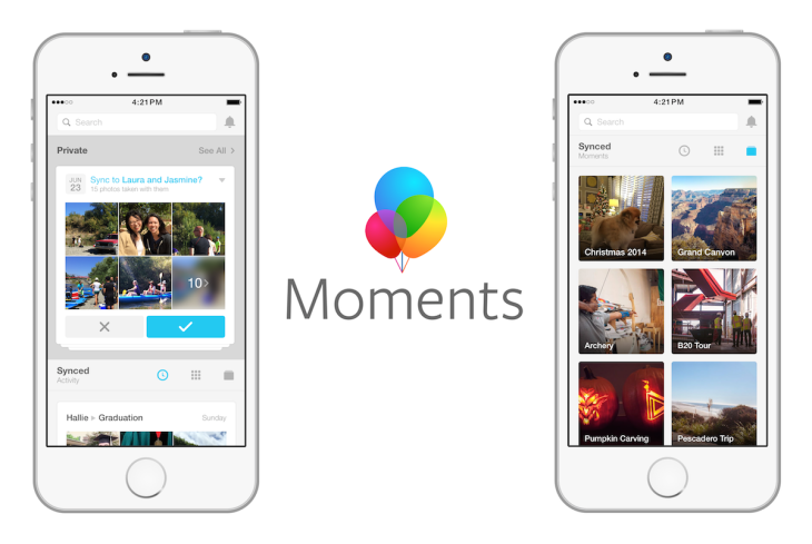 moments app by facebook
