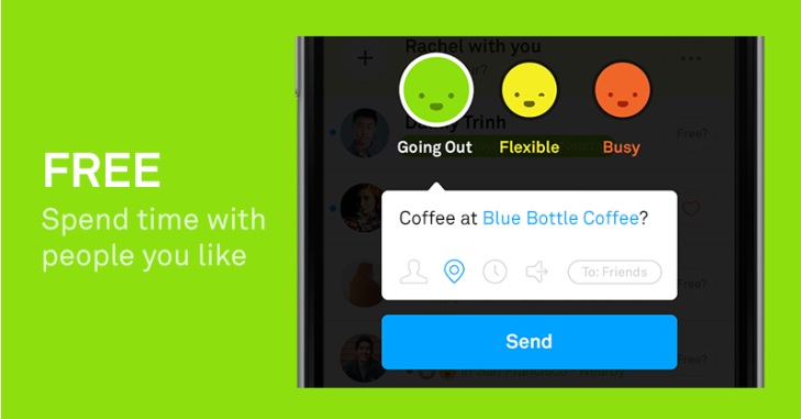 free shows which friends are available to hang out techcrunch