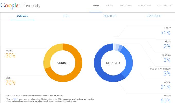 Google Diversity 2015