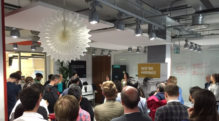 500 Startups roadshow in London