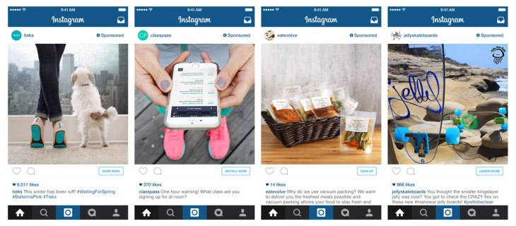 Instagram Beefs Up Ads With App Install And Buy Buttons Interest