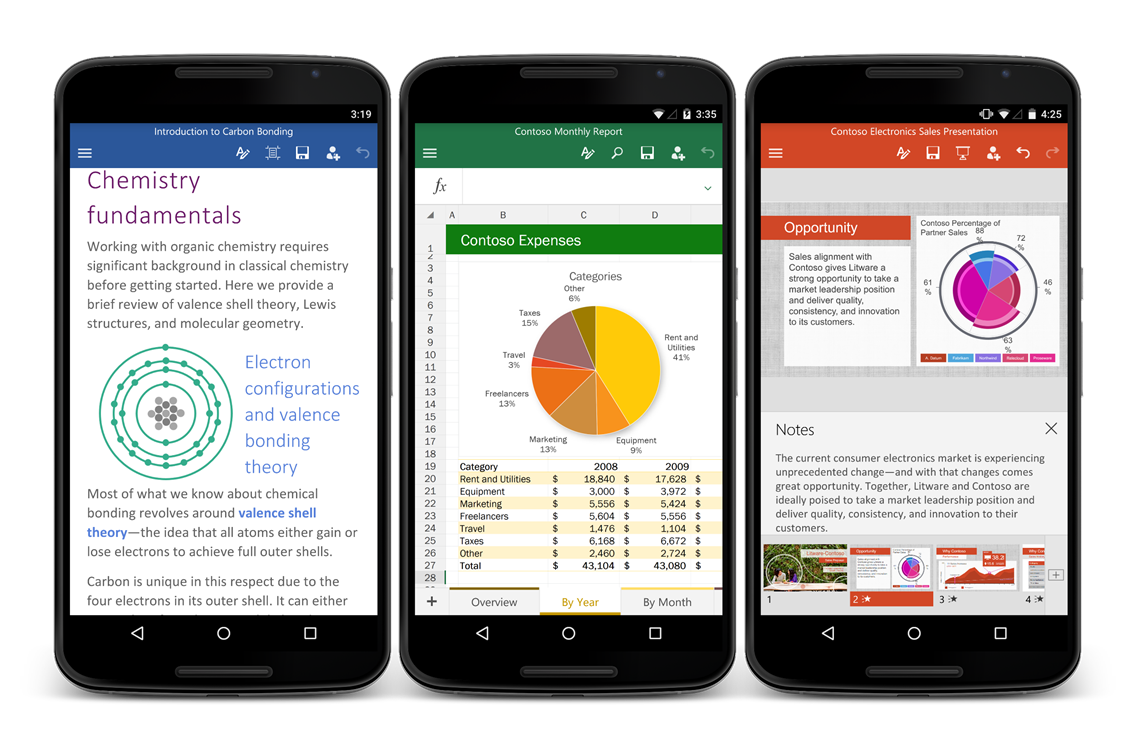 Microsoft Officially Launches Office For Android Phone ...