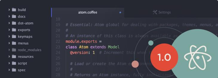 GitHub's Atom Text Editor Hits 1 0, Now Has Over 350,000