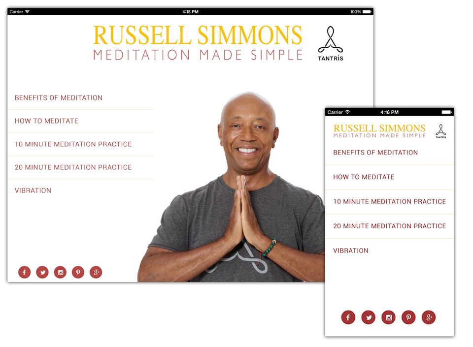 Russell Simmons On His New App Transcendental Meditation And The Art Of Sitting The F Down Techcrunch