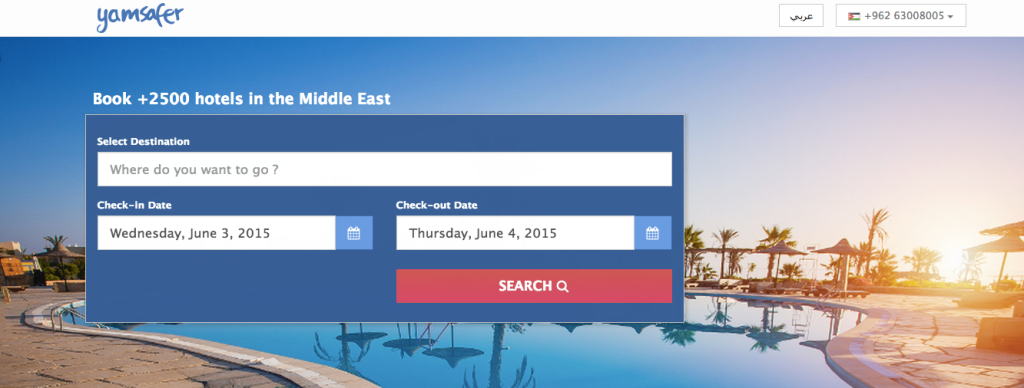 Global Founders Capital Invests In Middle East Hotel Booking Startup