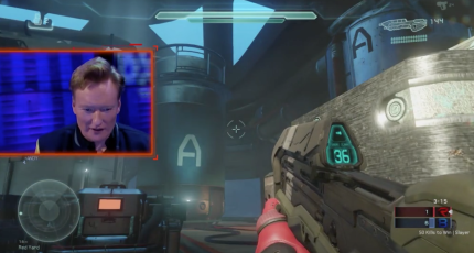 Watch Conan Play Halo 5: Guardians Multiplayer With The Cast Of