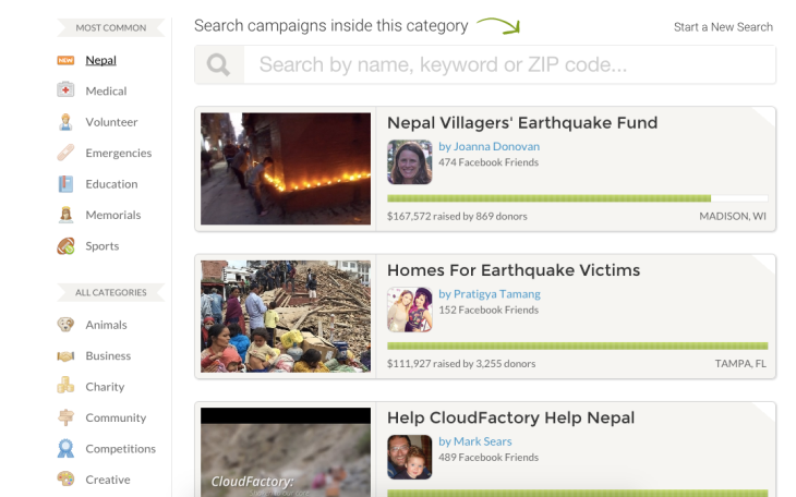 GoFundMe Confirms Its Funding Round, Which Valued It At $500