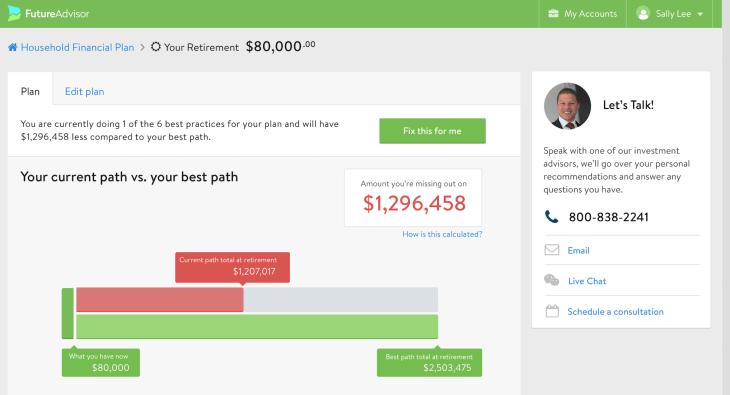 FutureAdvisor The investment software
