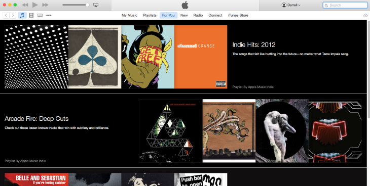 Apple Music Now Available On The Mac Via iTunes   TechCrunch