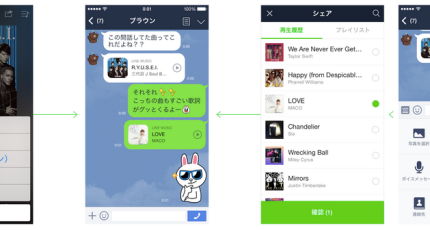 Messaging App Firm Line Launches Paid-For Music Streaming