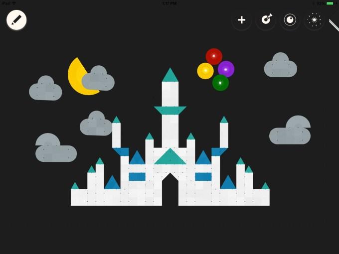 ShapeKit castle