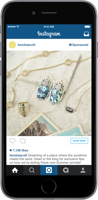 Shop Now. Kendra Scott Example