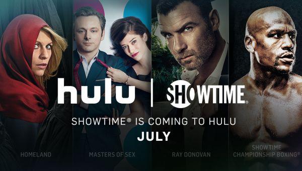 Showtime-Hulu