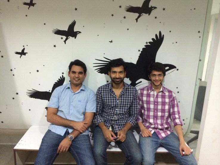 UrbanClap founders Abhiraj Bhal, Varun Khaitan, and Raghav Chandra