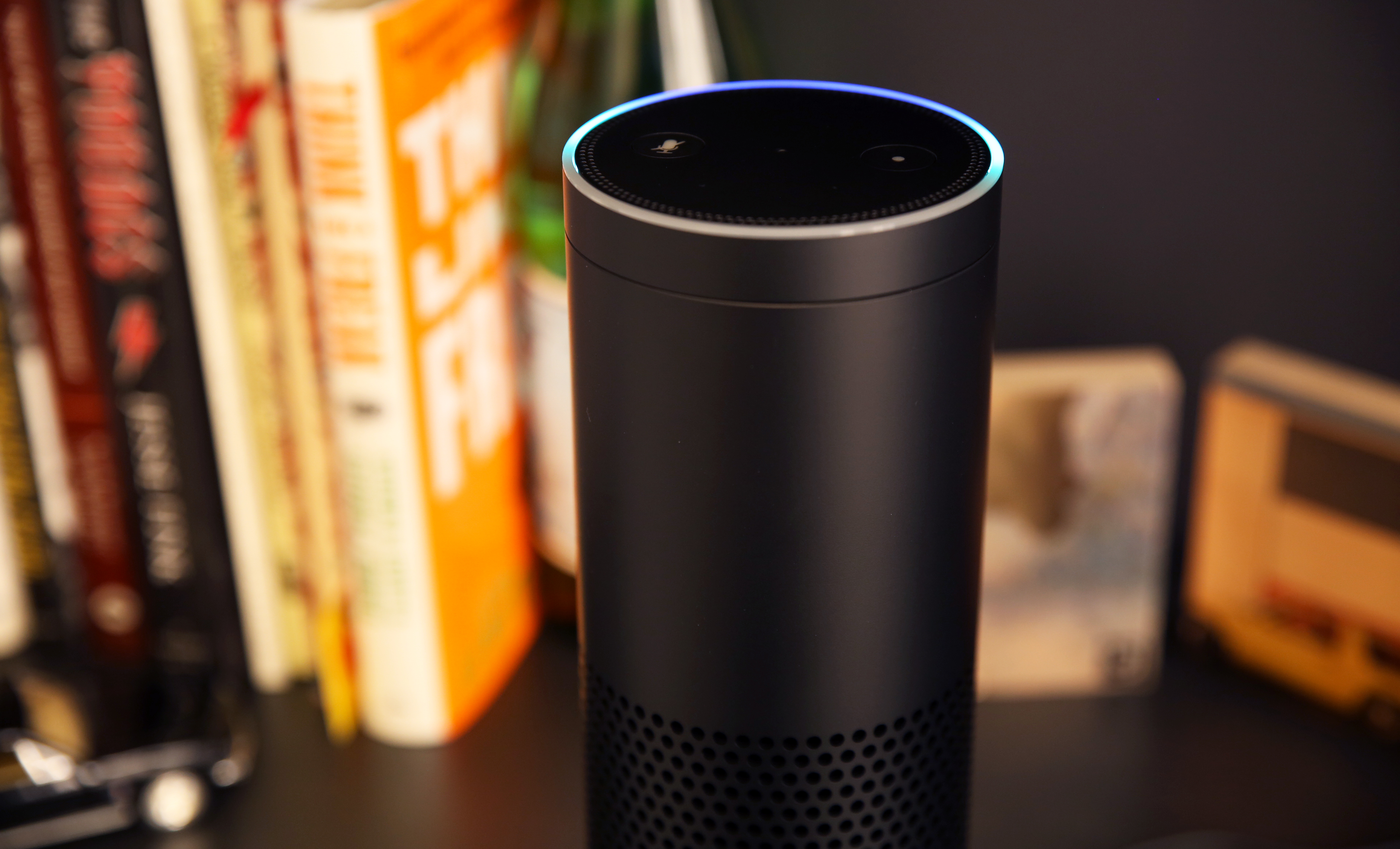 Amazon Echo Top Detail 2