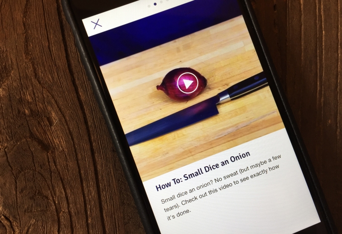 Blue Apron App How To Video