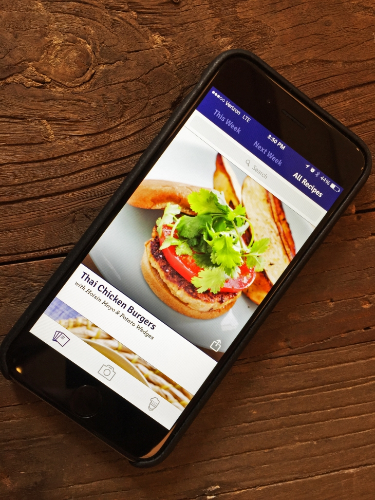Blue apron cooking reference here an ios app techcrunch for the first time in the three years of its existence ny based blue apron is releasing a mobile app for ios forumfinder Gallery