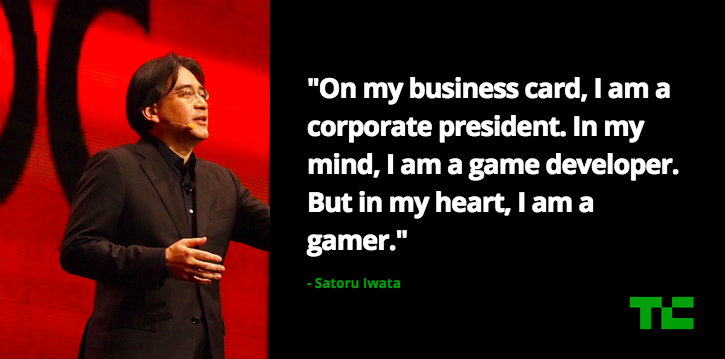 Nintendo President Satoru Iwata Has Died At 55 Techcrunch