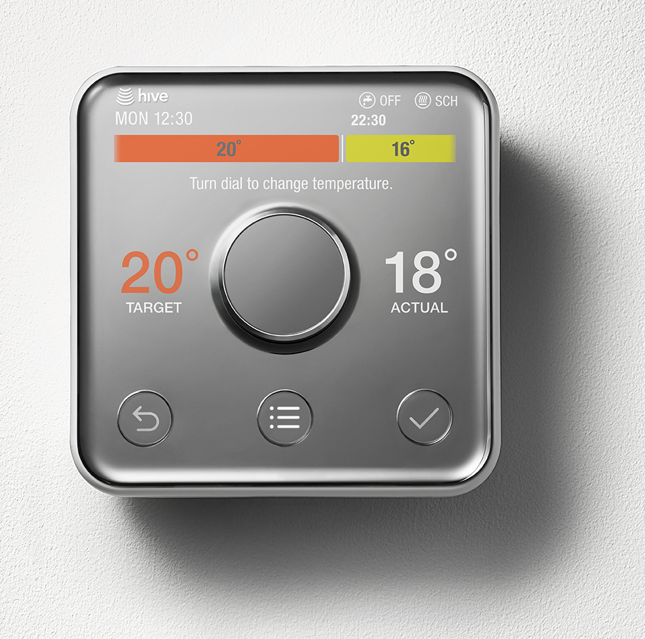 British Gas Unveils Updated Hive Thermostat, New Smart Plug