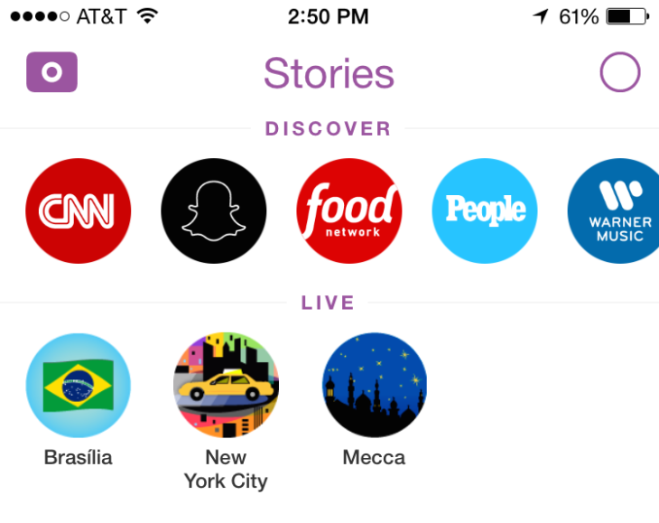 Image result for snapchat stories
