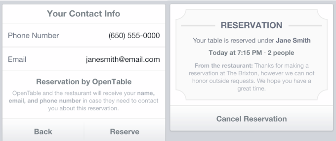 opentable-reservation