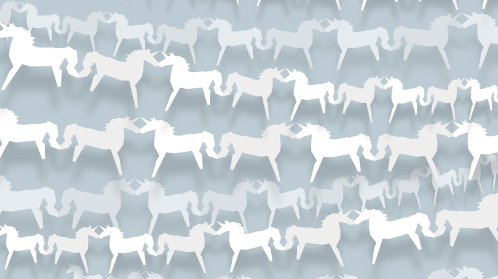 Paper unicorns