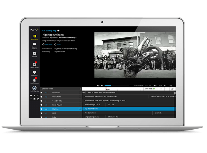 Pluto TV will expand its free service with paid subscriptions, says new owner Viacom