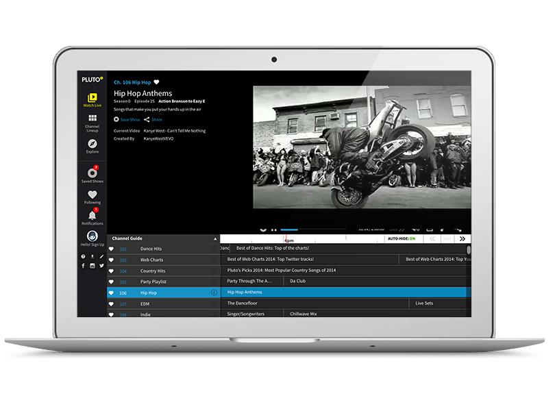 Pluto TV, An Online Video Service Targeting Cord Cutters