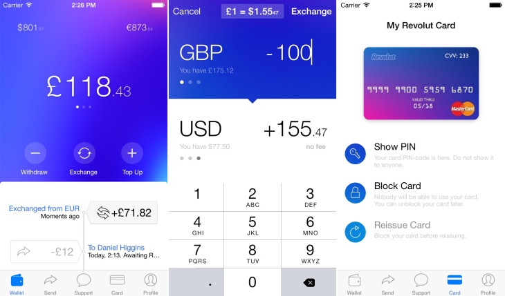 British Startup Revolut Just Raised 2 3 Million 1 5 From Balderton Capital To Make You Pay Less Exchange Fees When Travel Around The World