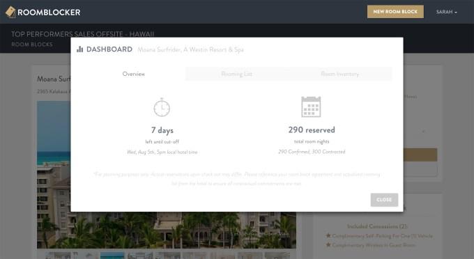 Roomblocker---Dashboard
