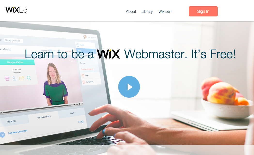 Wix Launches WixEd, A Free Online School For Website Design