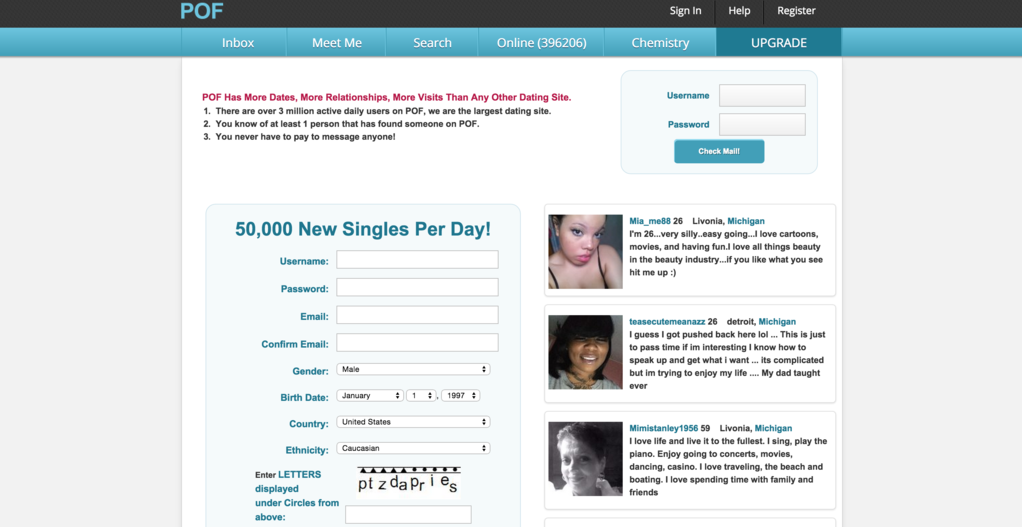 Free dating sites like pof and okcupid match
