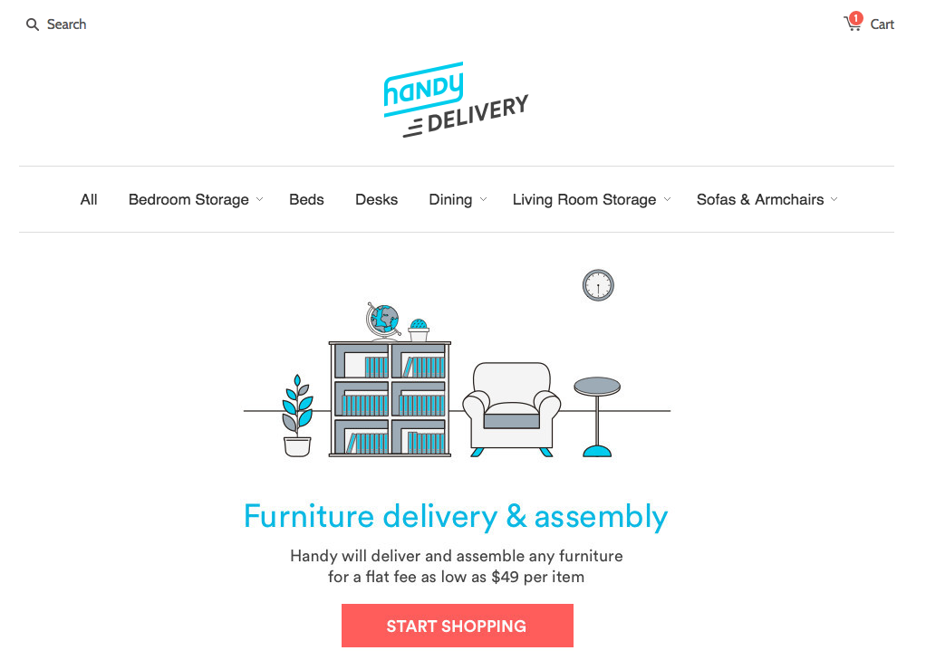 Handy Expands Into Furniture Delivery, Assembly (And Shopping) For A Flat  Fee Starting At $49