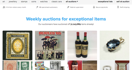 Holland S Catawiki Raises 82m To Take On Ebay In Collectible Auctions Techcrunch