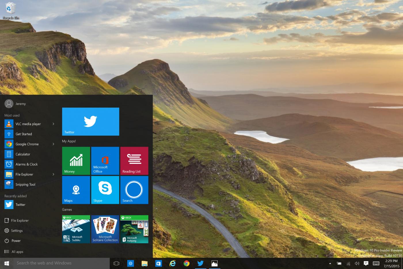 Windows 10 Gets Its Own Shiny New Twitter App | TechCrunch
