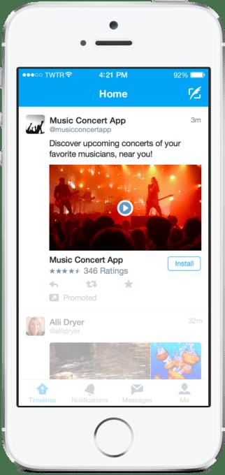 twitter video app ad
