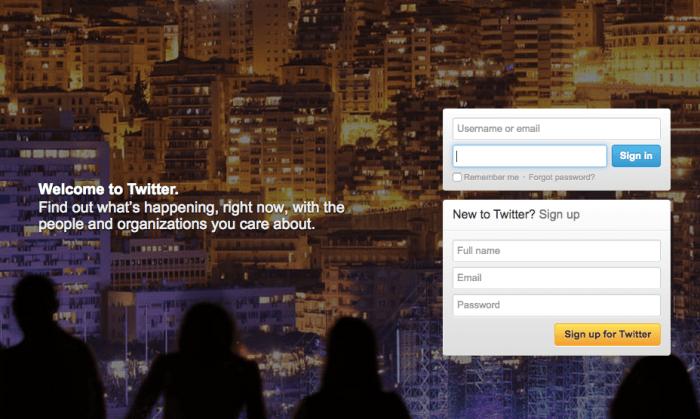 Twitter's Homepage Over The Years | TechCrunch