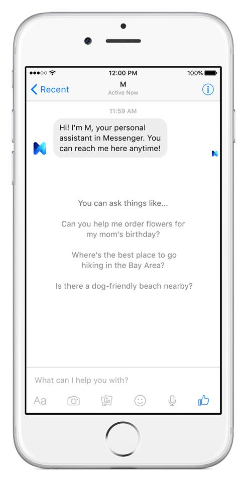 "f1b8a002a90ee Facebook is shutting down its standalone personal assistant ""M ..."