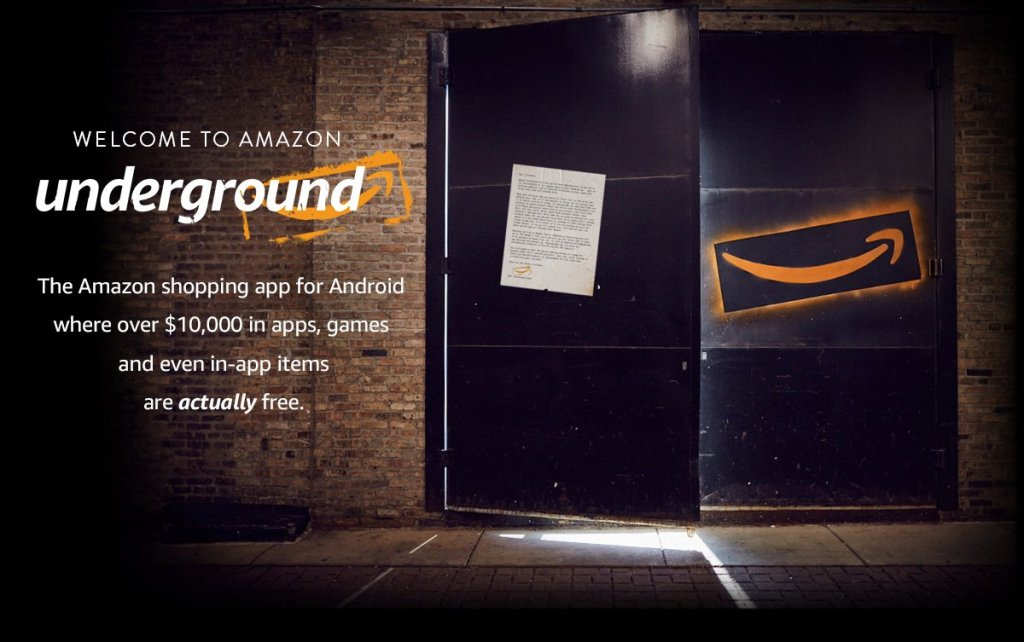 Amazon is shutting down its 'Underground Actually Free' program that