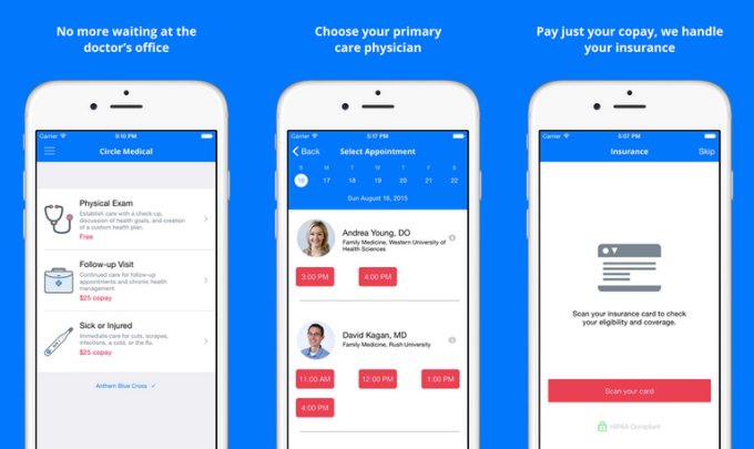 Circle Medical app