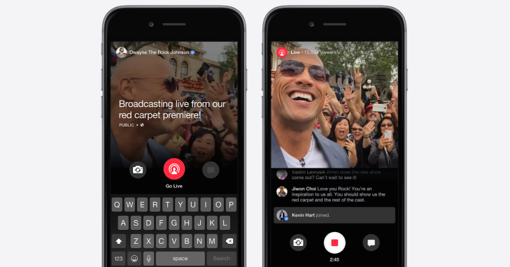 "Facebook Launches ""Live"" Streaming Video Feature, But Only For ..."