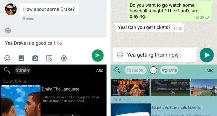 Fleksy Adds Deep-Linking To Its Keyboard App, Opening New Revenue