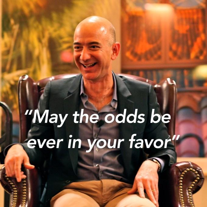 Jeff Bezos Amazon Hunger Games